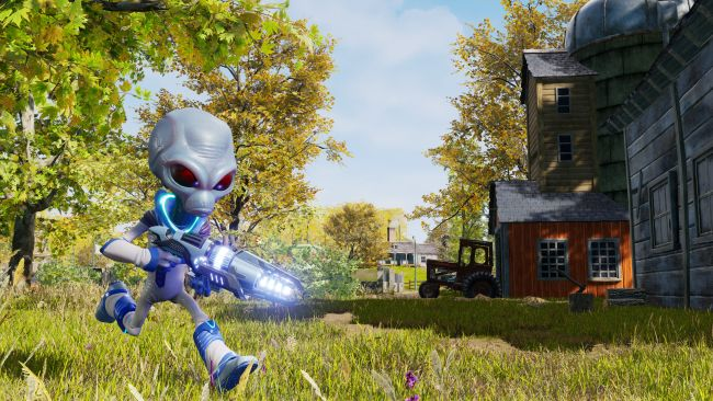 Puoi scaricare la demo di Destroy All Humans! da GOG