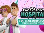 Two Point Hospital festeggia il secondo anniversario con un weekend gratuito