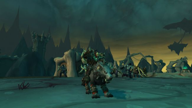 World of Warcraft: Un lupo solitario nelle Shadowlands