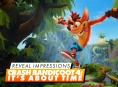 Crash Bandicoot: It's About Time - Reveal Impressions
